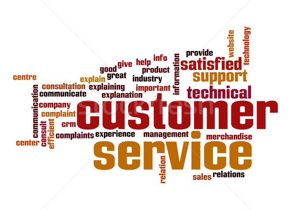 Customer support word cloud Stock photo © tang90246