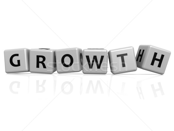 Growth randam buzzword Stock photo © tang90246