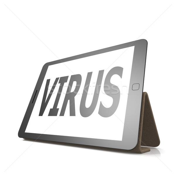 Viral Word: Tablet · Virus · Wort · Business · Computer · Technologie