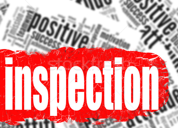 Word cloud inspection Stock photo © tang90246