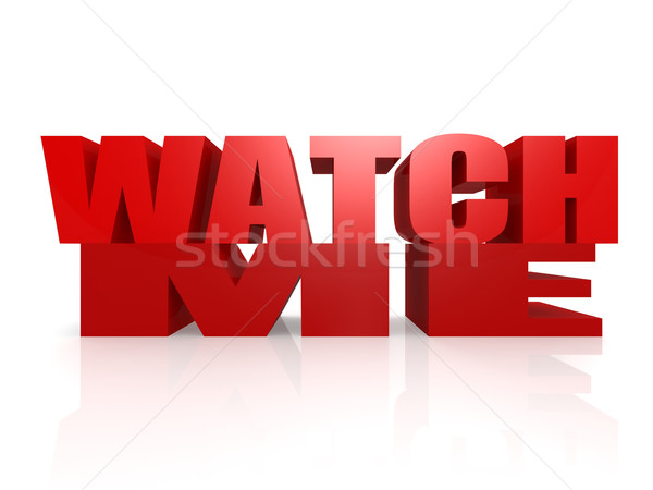 Watch me Stock photo © tang90246