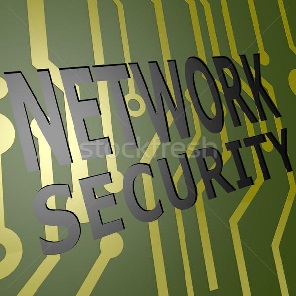 Foto d'archivio: Bordo · rete · sicurezza · business · internet · finanziare