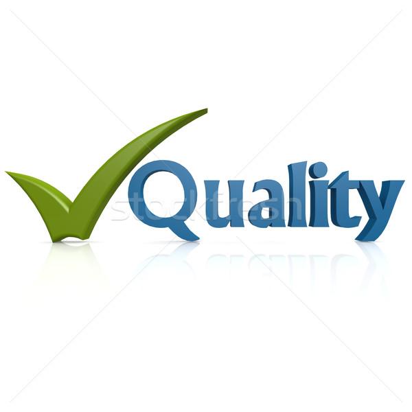 Quality tick Stock photo © tang90246