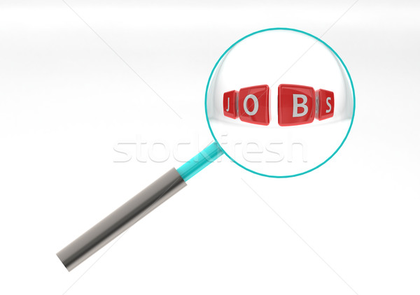Jobs puzzle Stock photo © tang90246