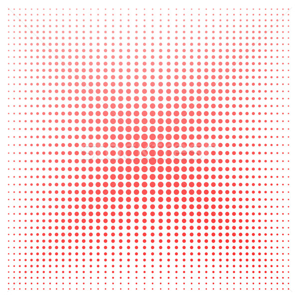 Red dot with white background Stock photo © tang90246