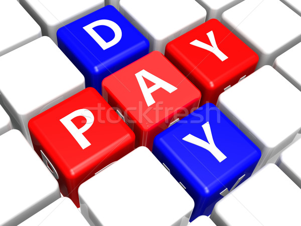 Pay day Stock photo © tang90246
