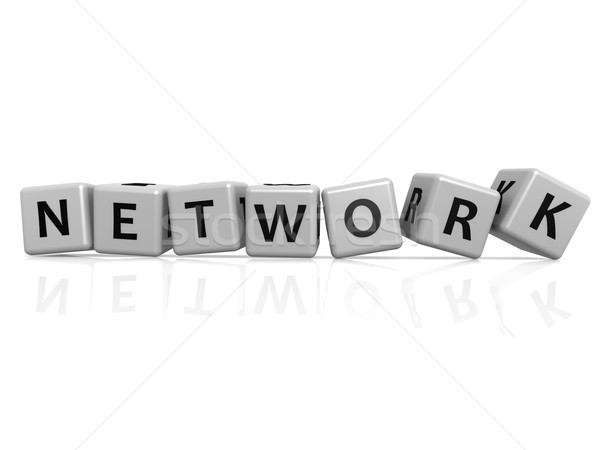 Network buzzword Stock photo © tang90246