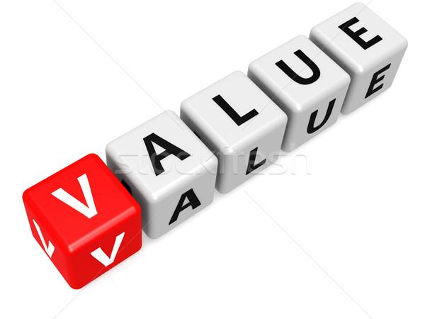 Stockfoto: Rood · waarde · afbeelding · gerenderd · gebruikt