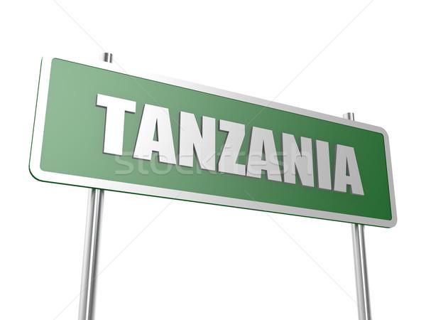 Tanzanya görüntü render kullanılmış grafik tasarım Stok fotoğraf © tang90246