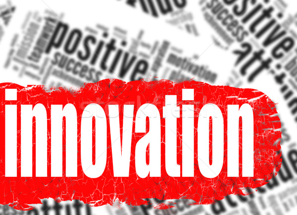 Word cloud innovation business sucess concept Stock photo © tang90246