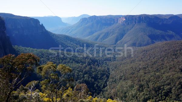 синий гор парка стены природы путешествия Сток-фото © tang90246