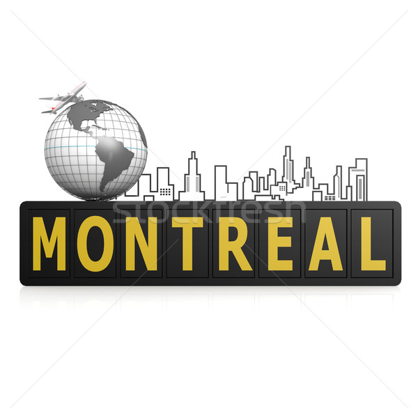 Montreal city Stock photo © tang90246