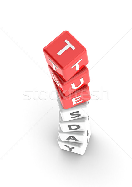 Tuesday puzzle word Stock photo © tang90246