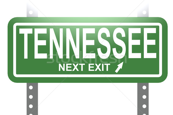 Tennessee vert signe bord isolé image Photo stock © tang90246