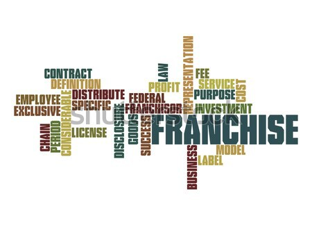 Franchise word cloud Stock photo © tang90246