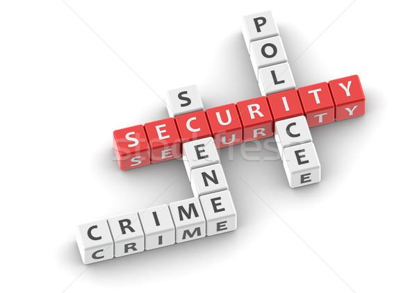 Biztonság kép renderelt mű használt grafikai tervezés Stock fotó © tang90246
