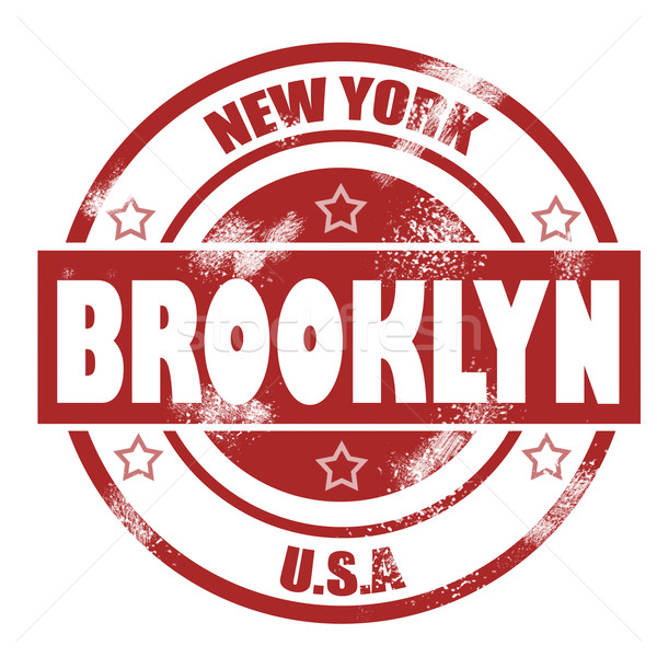 Brooklyn Stamp Stock photo © tang90246