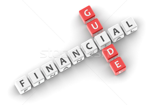 Financieros orientar imagen prestados utilizado Foto stock © tang90246