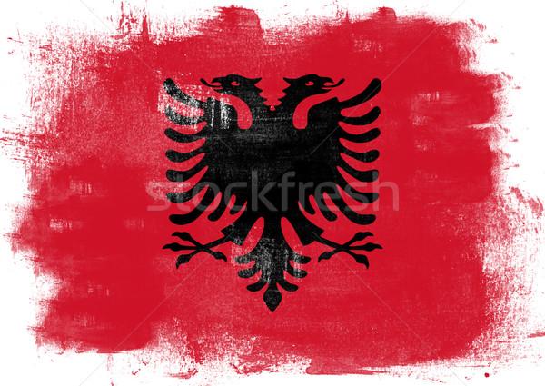 Flag of Albania Stock photo © tang90246