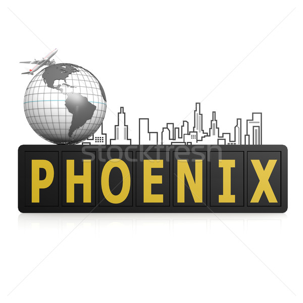 Phoenix city Stock photo © tang90246