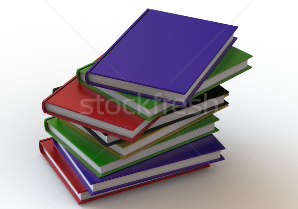 Stack of Books Stock photo © tang90246