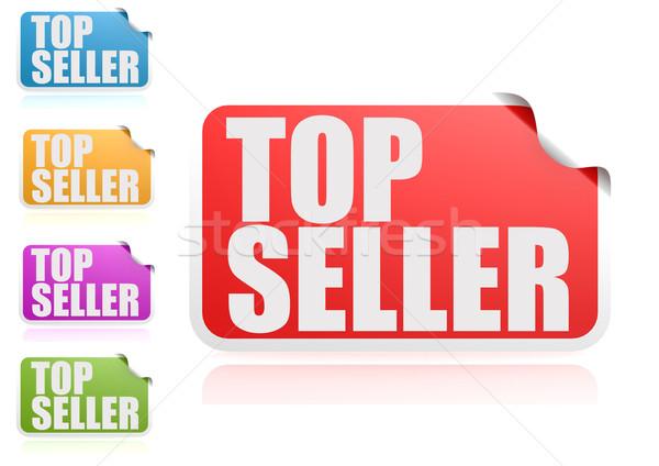 Top продавец Label набор бумаги дизайна Сток-фото © tang90246