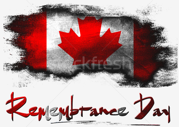 Remembrance Day Canada Stock photo © tang90246