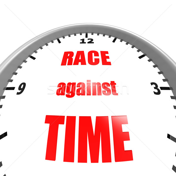 Race against time Stock photo © tang90246