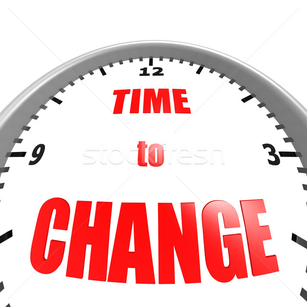 Time to change Stock photo © tang90246