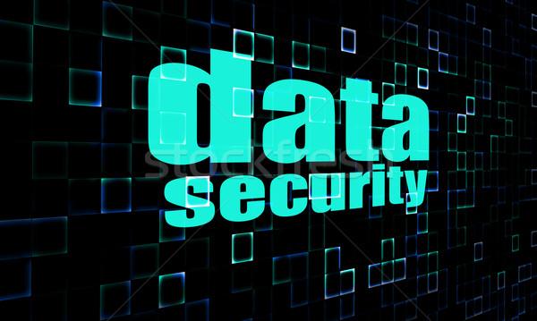 Data security on digital screen Stock photo © tang90246
