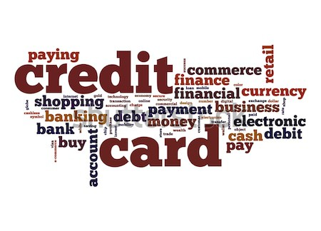 Credit card word cloud stock photo yann song tang tang90246 stock photo credit card word cloud reheart Choice Image