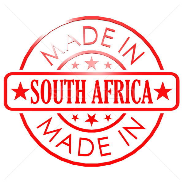 América del sur rojo sello negocios papel resumen Foto stock © tang90246