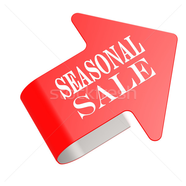 Seasonal sale twist label Stock photo © tang90246