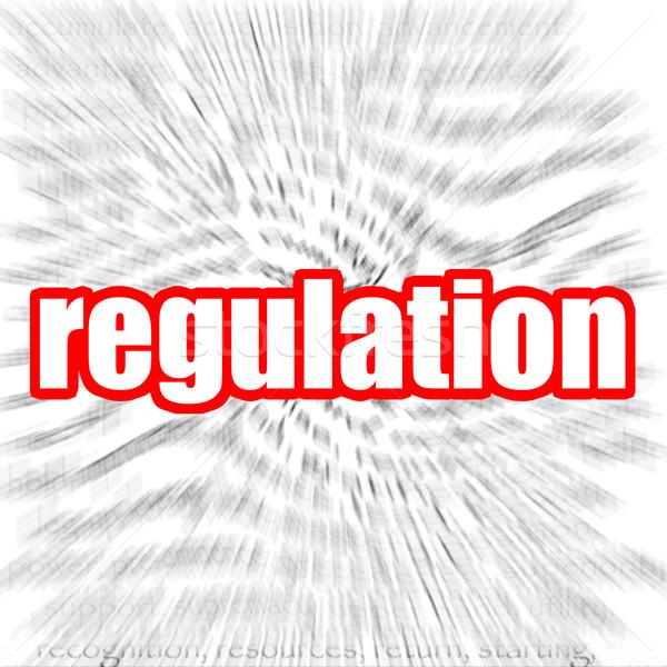 Réglementation image rendu utilisé design graphique Photo stock © tang90246