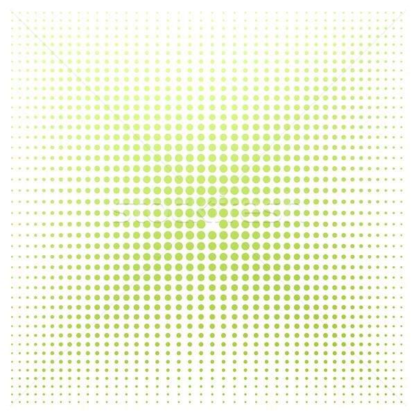 зеленый точка белый изображение оказанный Сток-фото © tang90246