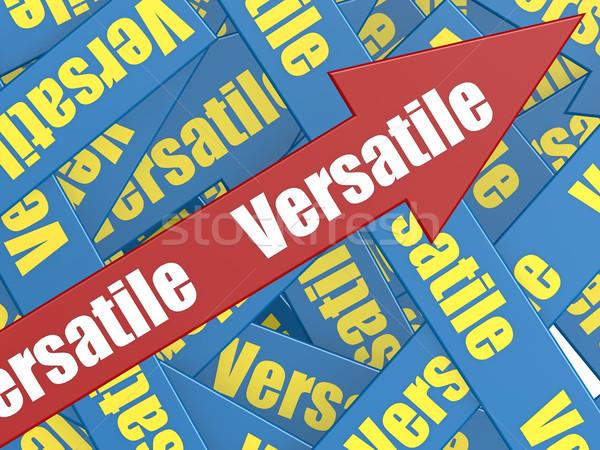 Versatile arrow Stock photo © tang90246