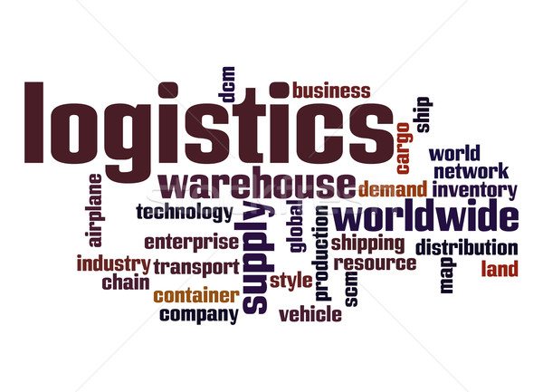 Logistics word cloud Stock photo © tang90246