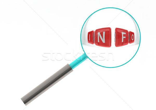Info puzzle Stock photo © tang90246