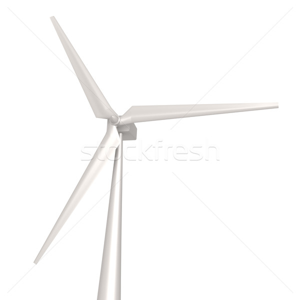 Isolated wind turbine Stock photo © tang90246