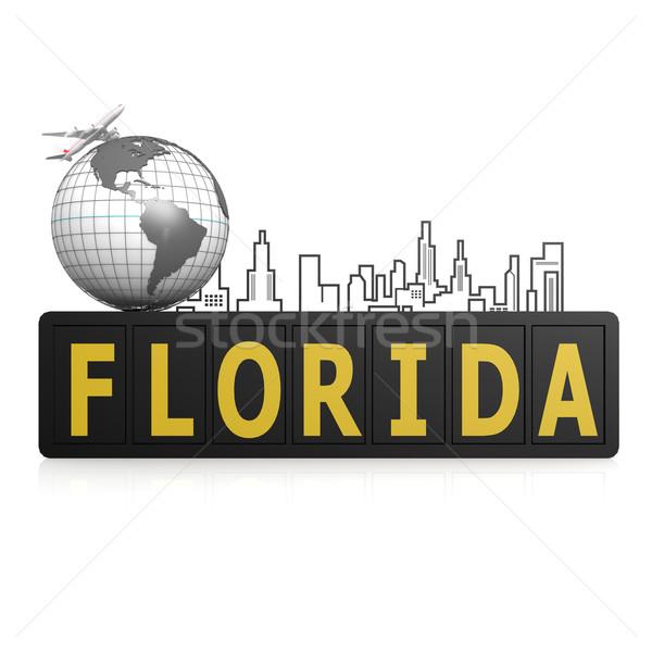 フロリダ 世界中 市 地球 旅行 都市 ストックフォト © tang90246