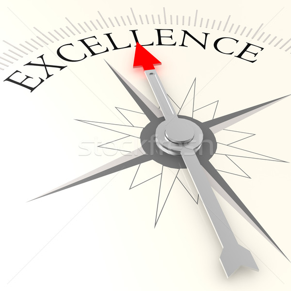 Excellence compass Stock photo © tang90246