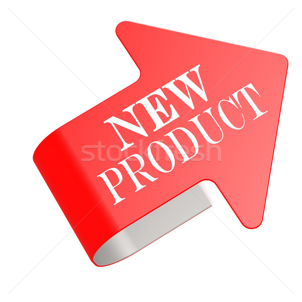 New product twist label Stock photo © tang90246