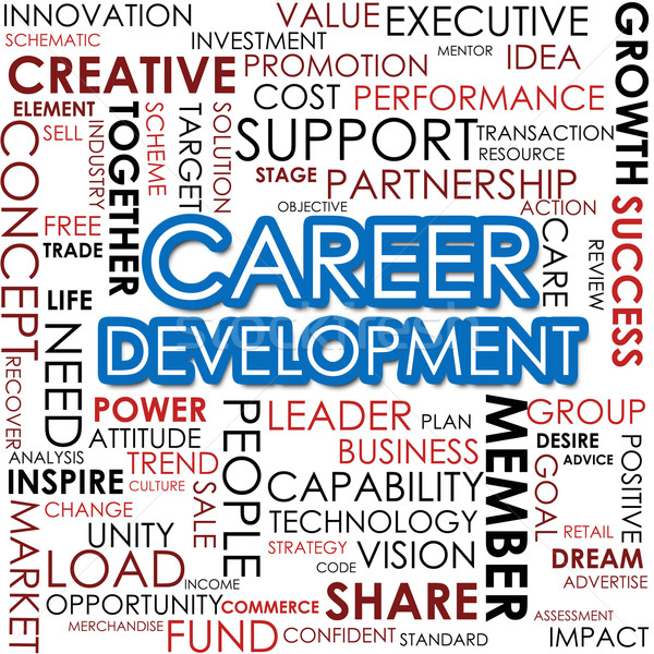 Career development word cloud Stock photo © tang90246