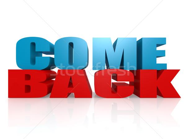 Come back Stock photo © tang90246