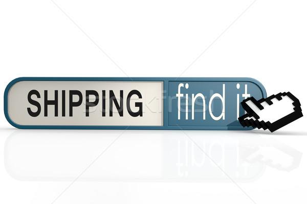 Сток-фото: судоходства · слово · синий · находить · баннер · изображение