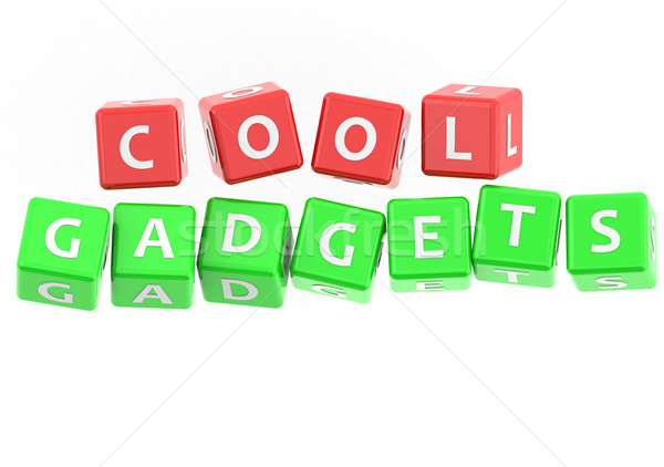Buzzwords cool gadgets Stock photo © tang90246