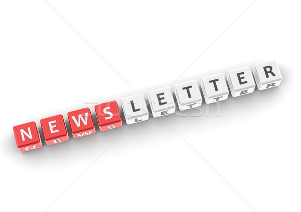 Newsletter Stock photo © tang90246