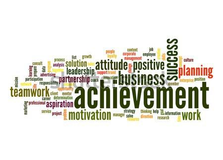 Achievement word cloud Stock photo © tang90246