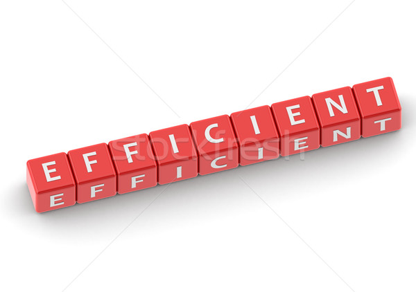 Buzzwords efficient Stock photo © tang90246