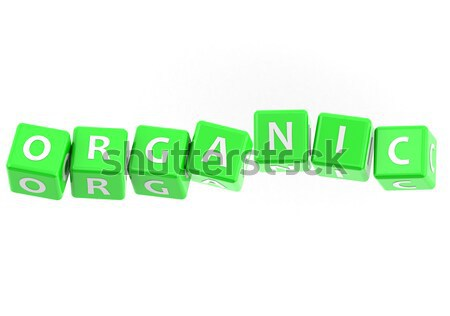 Buzzwords orgainic Stock photo © tang90246